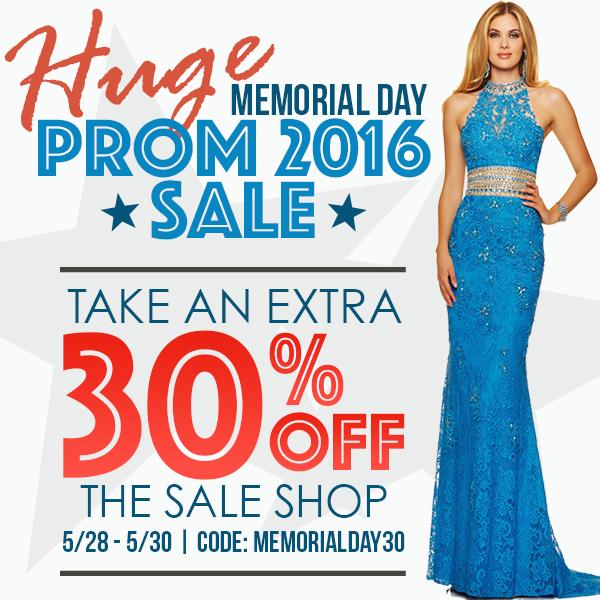 2016 Memorial Day Sale