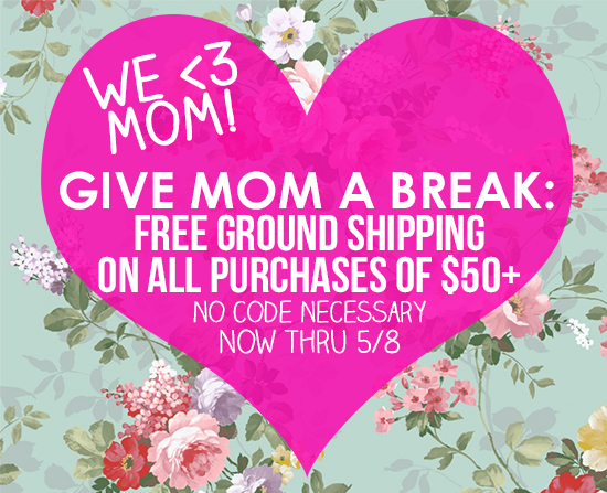 Free Shipping Mother's Day