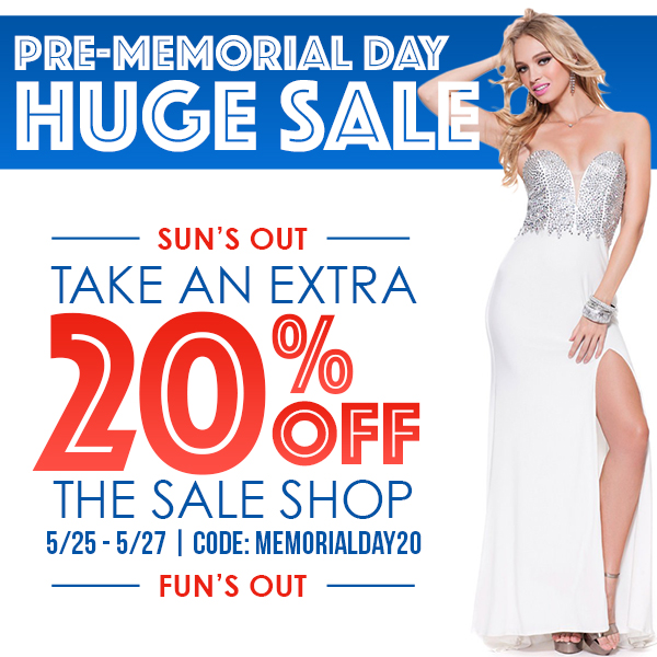 2016 Pre-Memorial Day Sale