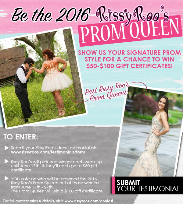 2016 Rissy Roos Prom Queen Contest