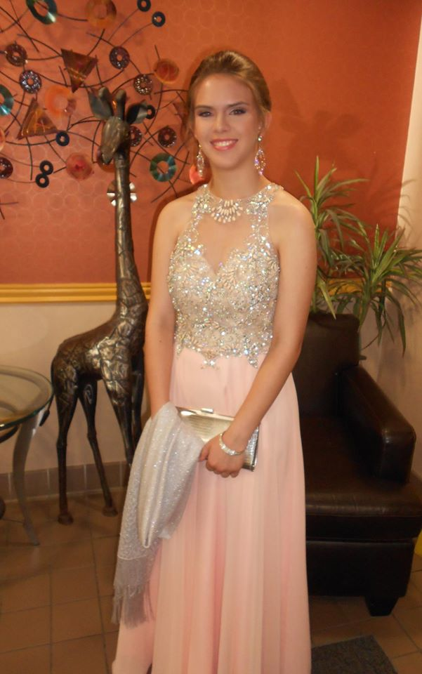 Noelle Dadon in Blush Prom 11005