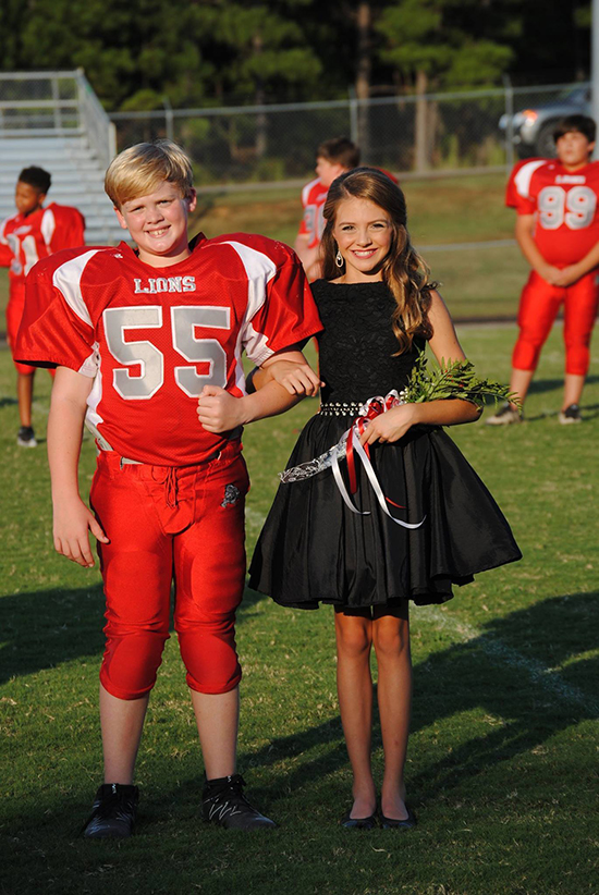 Middle School Football Homecoming