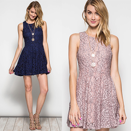 Holiday Lace Dress