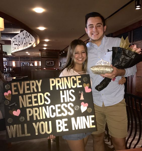 Princess Promposal