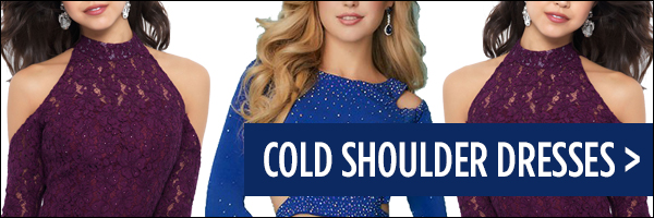 Homecoming 2017 Trend Cold Shoulder Dresses