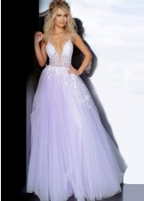 Jovani 1310 Lilac Ball Gown